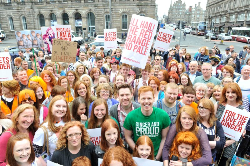 Ginger Pride Walk